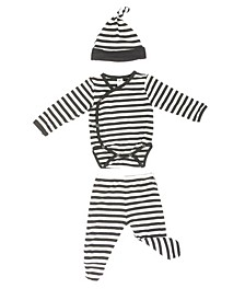 Baby Boys Bamboo 3 Piece Newborn Set
