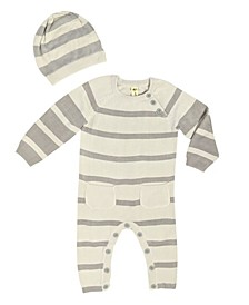 Baby Boys and Girls Bamboo Knit Romper
