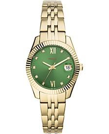 Women's Scarlette Mini Gold-Tone Stainless Steel Bracelet Watch 32mm