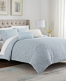 Reilly 5 Piece Comforter Set, King/California King