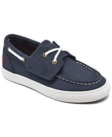 Little Boys Bridgeport EZ Slip-on Casual Boat Sneakers from Finish Line