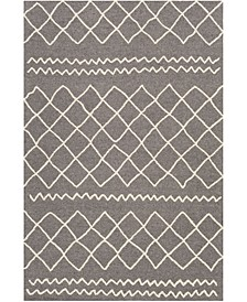 "Sinop SNP-2301 Charcoal 8'10"" x 12' Area Rug"