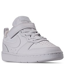 Little Boys Court Borough Low 2 Stay-Put Closure Casual Sneakers from Finish Line