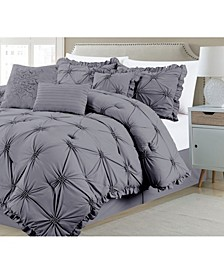 Shabby, Chic 7 Piece Comforter Set, Queen