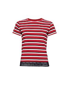 Lace Hem T-Shirt
