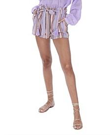 Women's Stripe Shorts