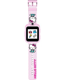 Kid's PlayZoom Hello Kitty TPU Strap Touchscreen Smart Watch 51mm x 41mm