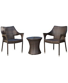 Alameda 3 Piece Outdoor Chat Set