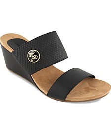 Emily Wedge Slide Sandal
