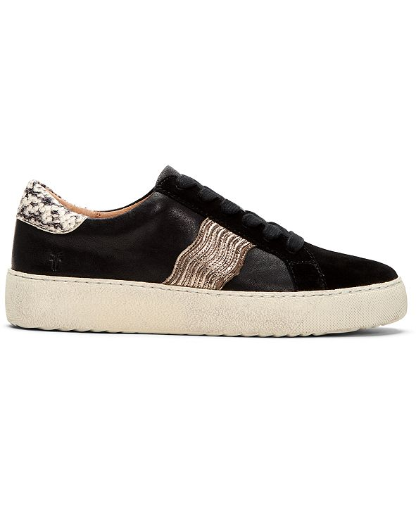 Frye Women S Webster Wave Low Lace Up Sneakers Amp Reviews