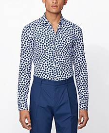 BOSS Men's Ronni_F Dark Blue Shirt