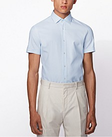 BOSS Men's Jats Light Pastel Blue Shirt
