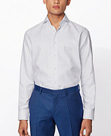 BOSS Men's T-Sam Light Pastel Blue Shirt
