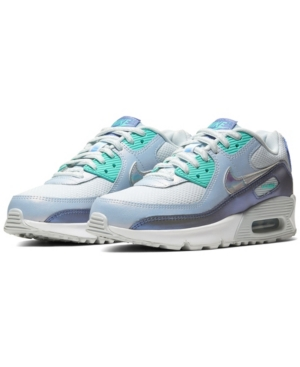 Nike BIG GIRLS AIR MAX 90 CASUAL SNEAKERS FROM FINISH LINE