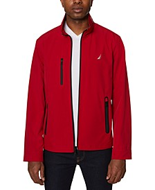 Men's Solid Lightweight Bomber Jacket