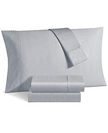 Aspen 1000 Thread Count Sateen 6-Pc. Solid Queen Sheet Set