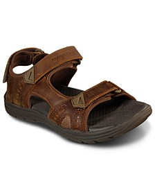 Men's Evented Renson Adjustable Strap Sandals from Finish Line