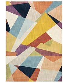 "Arcadia ARC09 Multi 3'10"" x 5'5"" Area Rug"