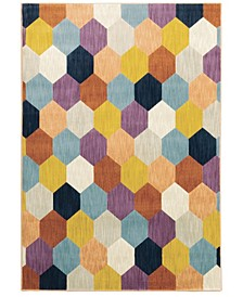 "Arcadia ARC07 Multi 9'10"" x 12'10"" Area Rug"