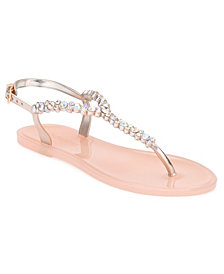 Olivia Miller Women's Moulin Jelly Sandals