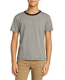 Big Boys Yarn Dye Stripe T-shirt
