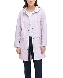 Midweight Rubberized Rain Fishtail Parka Jacket