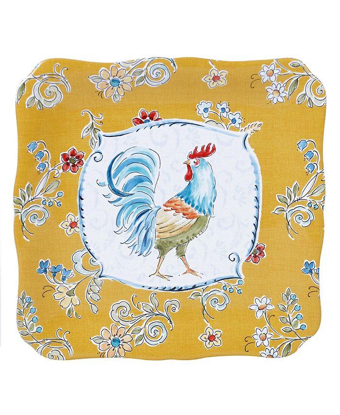 Tracy Porter - Morning Bloom Square Platter