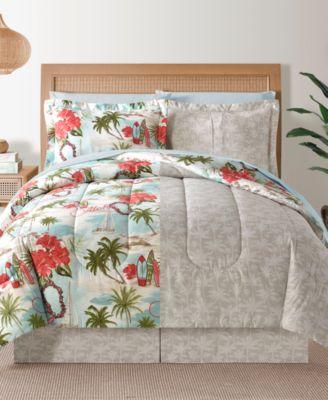 Fairfield Square Hawaii Multi 6-Pc Twin Comforter Set