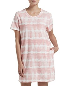 Women's Tie Dye Sleepshirt Nightgown