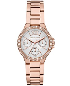 Camille Multifunction Rose Gold-Tone Stainless Steel Watch
