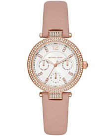 Parker Multifunction Blush Leather Watch