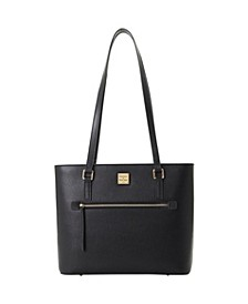 Dooney Bourke Saffiano Leather Lexington Shopper