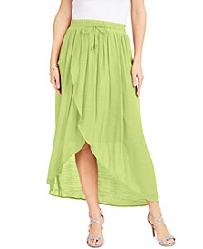 Wrap Midi Skirt, Created for Macys