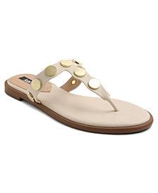 kensie Women's Maija Thong Slide Sandal