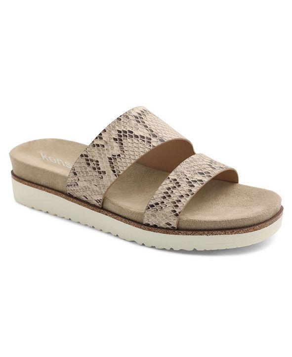 kensie Women's Dayton Slide Sandal