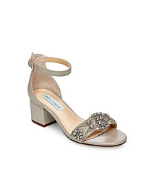 Women's Wide Mel Block Heel Sandal