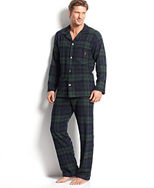 Polo Ralph Lauren Men's Plaid Flannel Pajamas