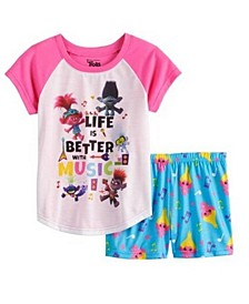 Little Girls 2 Piece Pajama Set