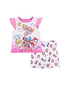 Toddler Girls 2 Piece Pajama Set