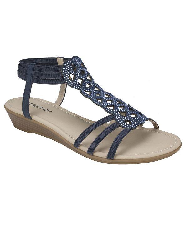 Rialto Genova Wedge Sandals