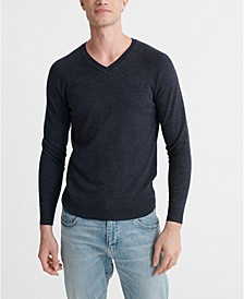 Men's Orange Label V-Neck Jumper