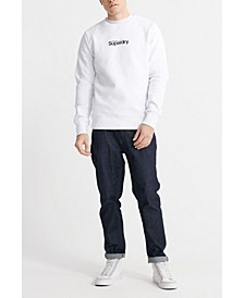 Men's Core Logo Essential Crew Sweatshirt