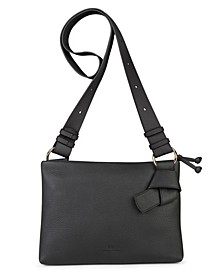 Midi Mayfair Leather Crossbody Bag