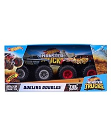 CLOSEOUT! Hot wheels® Monster Trucks Rev Tredz Dueling Double