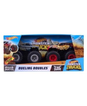 Mattel Hot wheels Monster Trucks Rev Tredz Dueling Double