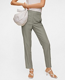 Cropped Modal Trousers