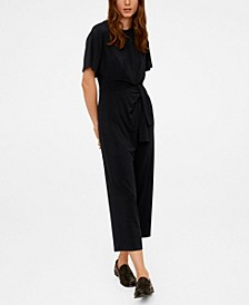 Bow Detail Jumpsuit