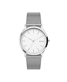 Men's Jorn Stainless Steel Mesh Watch 41mm