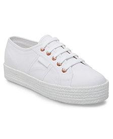 Superga Women's 2730 Cotropew Platform Espadrille Sneakers