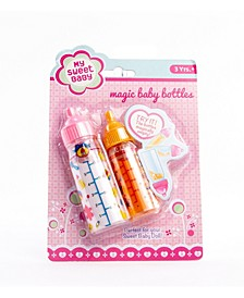 My Sweet Baby Magic Baby Doll Bottles